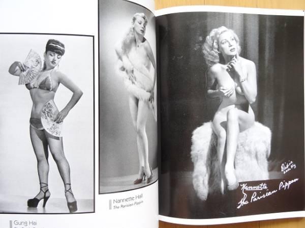 洋書◆バーレスクのスターモデル写真集 1940~50年代_画像2