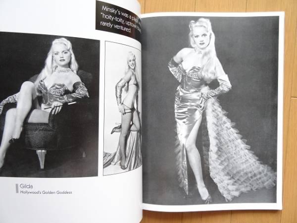洋書◆バーレスクのスターモデル写真集 1940~50年代_画像3