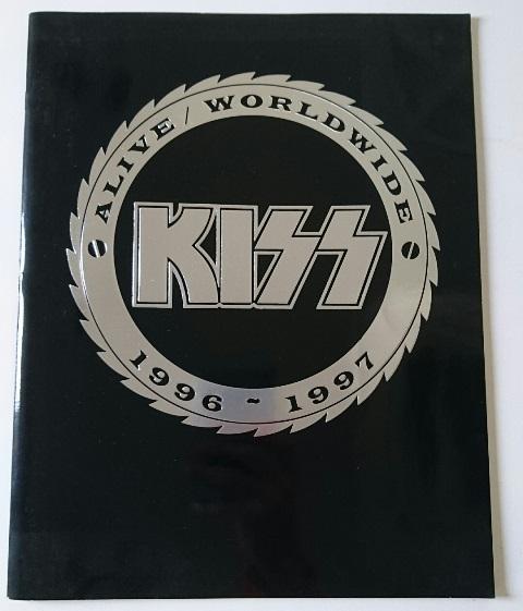 KISS ALIVE ワールドワイド 1996-1997 パンフレット
