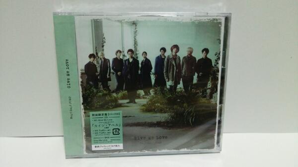 即決!Hey!Say!JUMP Give Me Love 初回限定盤(CD+DVD)新品未開封 コンサートグッズの画像