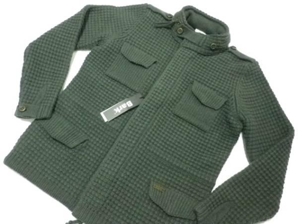 ◆Bark/バーク◆伊製 M-65 ニットジャケット 7.4万