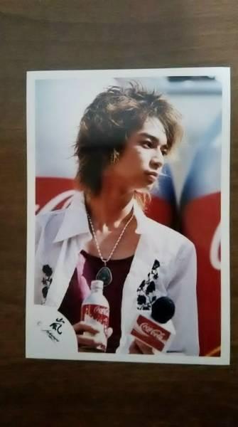 嵐★松本潤さん公式写真★2003年 コカ・コーラ イベント 嵐ロゴ