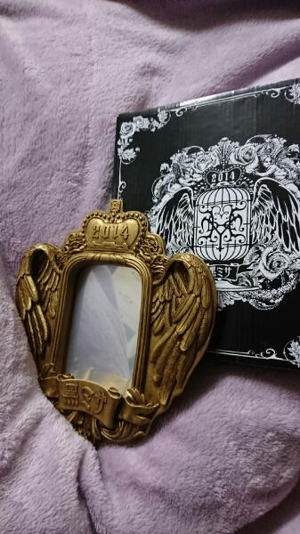 黒ミサ 2014*2wayフォト&ミラースタンド 新品 HYDE VAMPS 写真たて*鏡