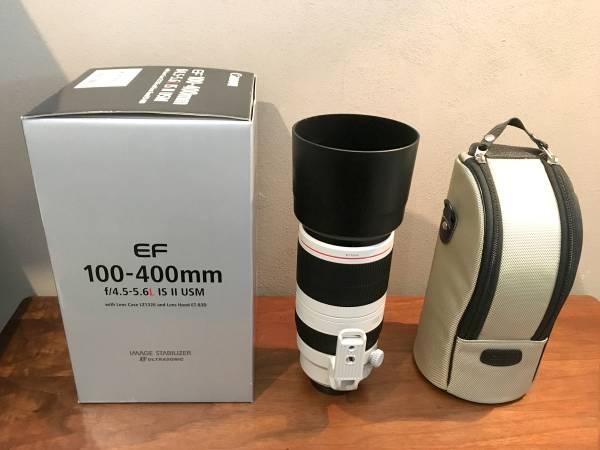 【10日レンタル】Canon EF100-400mm F4.5-5.6L IS II USM/Y!最安_商品イメージ