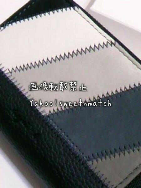 アニエスベー ボヤージュ 牛革 レザー 本革 Wファスナー コインケース カードケース 新品 未使用
