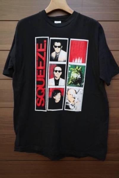 80S SQUEEZE バンドTシャツ ビンテージ ロック ポストパンク