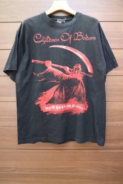 00S CHILDREN OF BODOM バンドTシャツ ビンテージ メタル RD