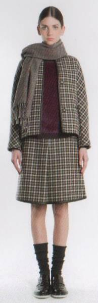 新品76%OFF マックスマーラ Max Mara デザインスカート ブラウン 40サイズ_画像3