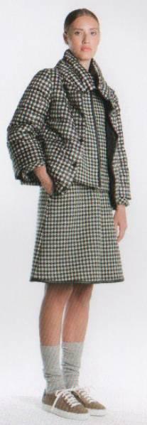 新品76%OFF マックスマーラ Max Mara デザインスカート ブラック 42サイズ_画像3