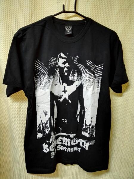 12 Tシャツ ベヒーモス サタン主義