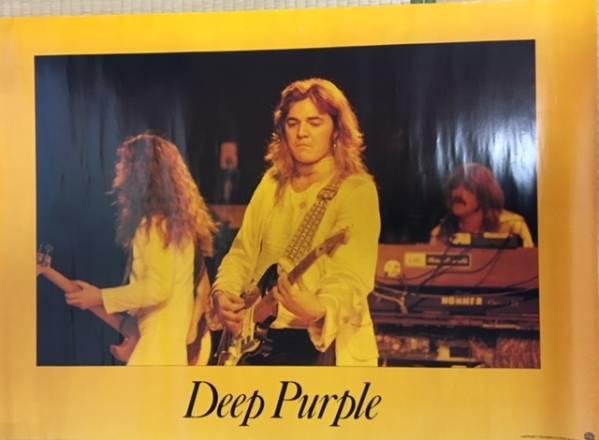 レア Deep Purple MarkⅣ トミーボーリン 大型ポスター