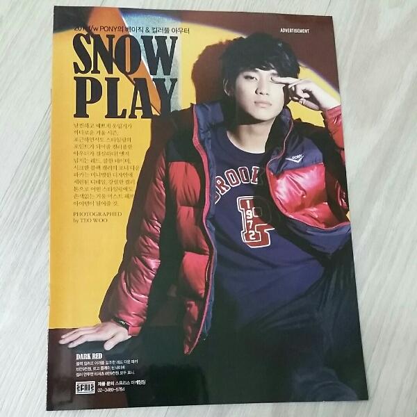 キム・スヒョン 韓国 2011 spris カタログ snow play