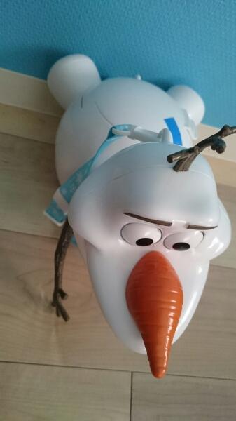 新品 ディズニー オラフ ポップコーンバケット アナ雪 ディズニーグッズの画像