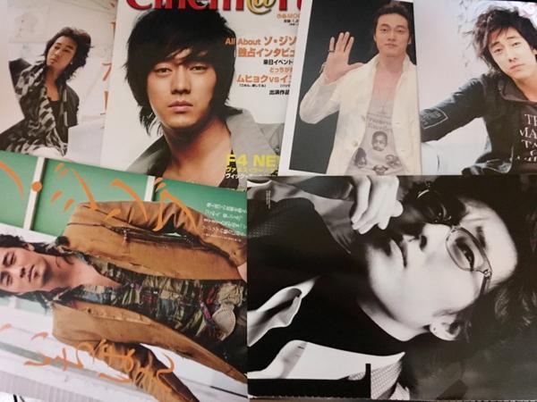韓国 ソジソブ ソジソプ ジソブ 2005-2006年頃 切り抜き 68ページ 激レア 雑誌 シネマート ソジソブ特集 切り抜きもあり