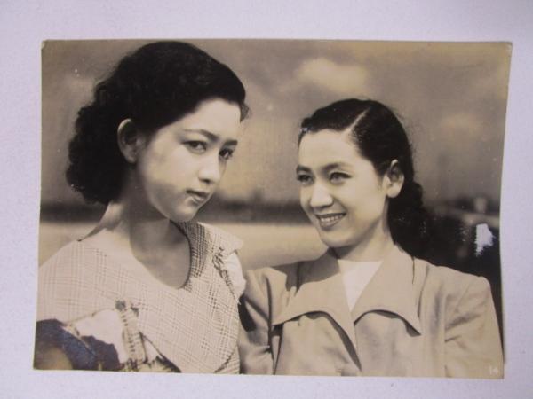 映画 白雪先生と子供たち 原節子 関千恵子 ブロマイド