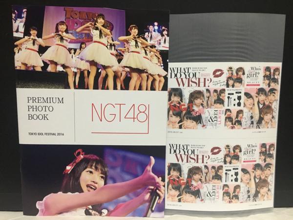 NGT48 神の手限定 ミニフォトブック 北原里英 中井りか 等 ライブグッズの画像