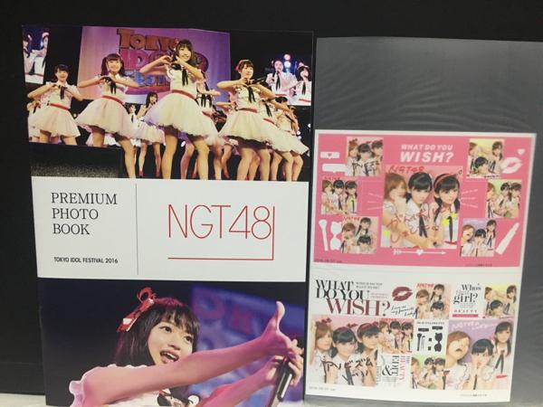 NGT48 神の手限定 ミニフォトブック 村雲颯香 中村歩加 大滝 ライブグッズの画像