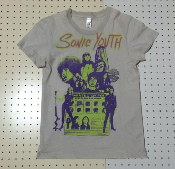 [中古 00s USA製]SONIC YOUTH KOOL THING TEE ソニックユース Tシャツ M-OS