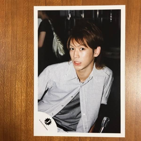 即決¥500★KAT-TUN 公式写真 2242★亀梨和也 Jr.時代 Jロゴ
