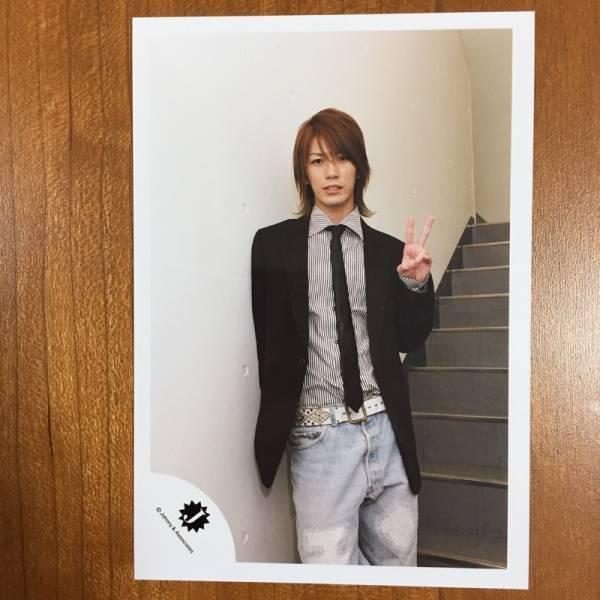 即決¥500★KAT-TUN 公式写真 2248★亀梨和也 Jr.時代 Jロゴ