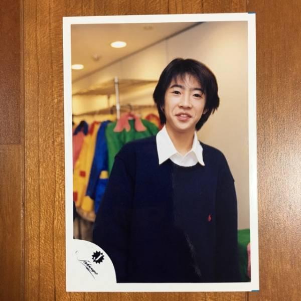 即決¥1500★嵐 公式写真 2258★相葉雅紀 Jr.時代 Jロゴ