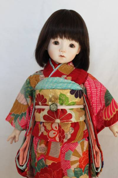 花織 創作人形 ビスクドール 球体関節人形