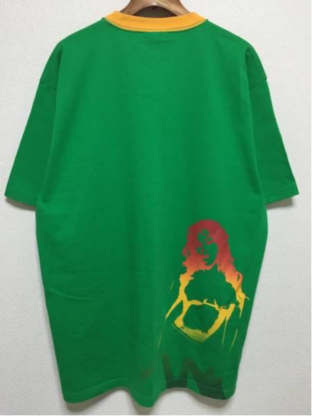 [即決古着]WHOLENINE/ホールナイン/グラフィックTシャツ/半袖/緑/グリーン/L2
