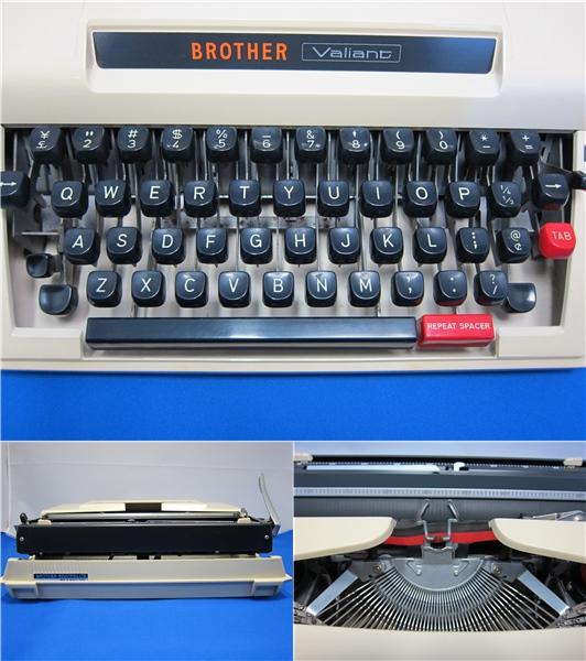 BROTHER Valiant タイプライター ◆28_画像2
