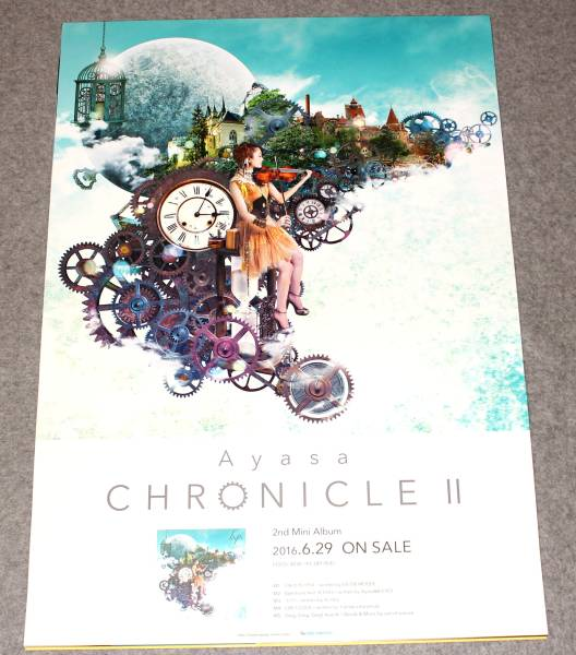 ●Ж6 告知ポスター Ayasa [CHRONICLE II]