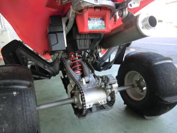 4輪バギー 美車 2006 HONDA TRX450ER6 レーサー パドルタイヤ_画像2