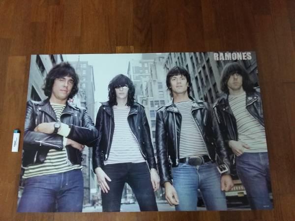 送290●新品 89cm ポスター Ramones ラモーンズ モッズ mods a