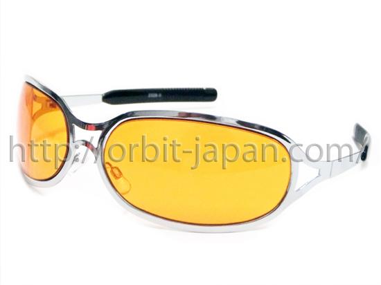 新品■hide愛用クリスチャンロス同型 サングラス橙 X-JAPAN HYDE