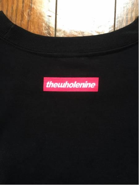 ☆WHOLENINE(ホールナイン)セクシー美品Tシャツ☆黒ブラック XL3