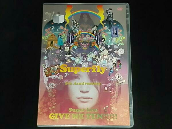 Superfly GIVE ME TEN!!!!!(初回限定版) ライブグッズの画像