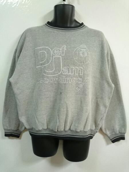 90s Def Jam recordings デフジャム ロゴ スウェット L Rap Tees