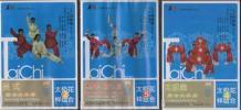 呉式組合太極拳 組合太極扇 組合太極拳 佛塵 扇 中国語DVD3枚