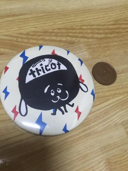 tricot 缶バッジ トリコ バンド 爆裂トリコさん