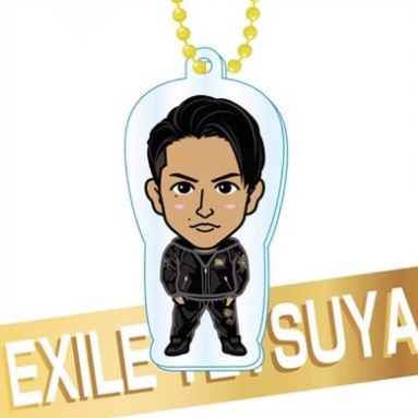EXILE TETSUYA クリアチャーム 15th Anniversary ジャージ ガチャ
