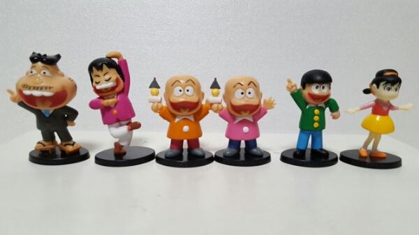 赤塚不二夫 おそ松くん フィギュア 全6種 おそ松さん 昭和   グッズの画像