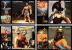 世界勇者の肖像 GLADIATOR グラディエーター 8種 彩色違い含む版 /歴史浪漫/カエサル/シーザー/コンモドゥス/古代ローマ帝国