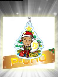 トラステガチャ P-CHO ドーベル DI アクリルチャーム クリスマス