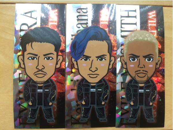 EXILE THE SECOND www モバイル ステッカーakira kenchi nesmith