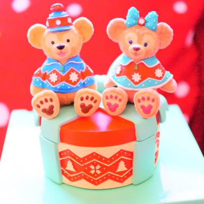 ディズニーシー2011クリスマスダッフィー&シェリーメイ 小物入れ ディズニーグッズの画像