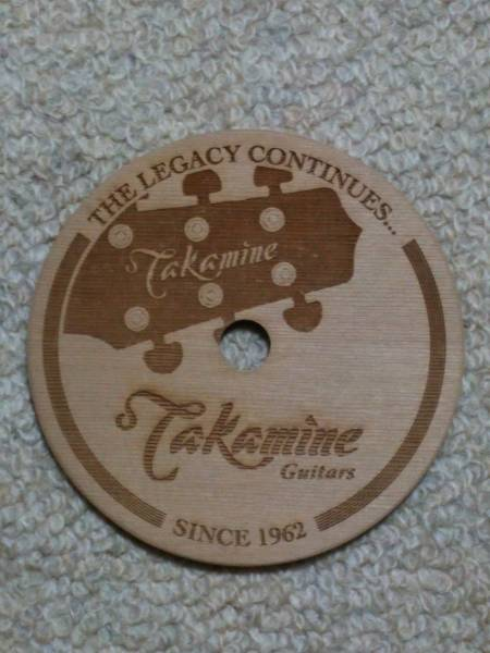 タカミネ Takamine Guitars コースター ② 非売品