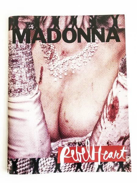 新品!Madonna マドンナライブ パンフレット写真集 デザイン ライブグッズの画像