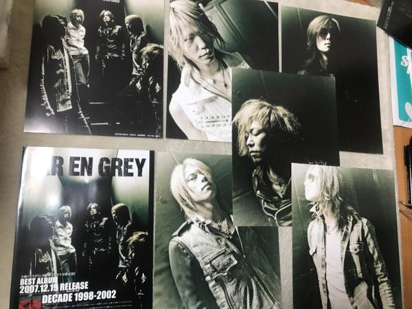 DIR EN GREY DECADE 自主盤 特典 ポートレート 6種類 非売品