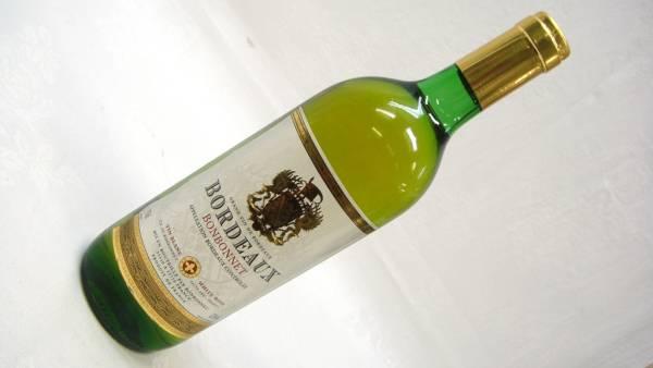 【SZ3293】古酒 BORDEAUX BONBONNET 白ワイン 750ml 未開栓_画像1