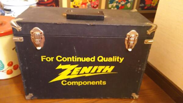 vintage ZENITH ゼニス リペアボックス 修理 USA 真空管