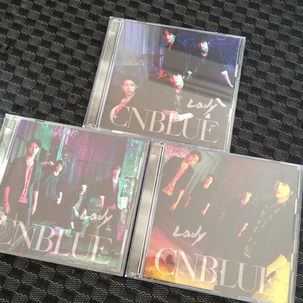 送料込 CNBLUE Lady 3形態セット
