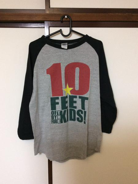 10-FEET テンフィ ラグラン 七分袖 Tシャツ